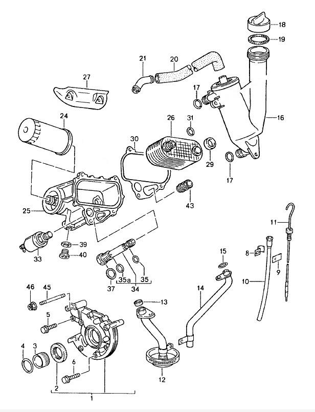 Engine Lubrication: Porsche 944 Fuel System Wiring Diagram At Scrins.org