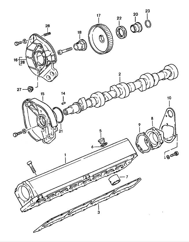 porsche 928 door schematic