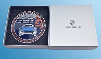"Plakette ""Porsche 356 - Legends of 1963"" Limitiert auf 1963"