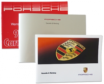 Maintenance booklets/service books for Porsche 911 / 964 / 993 / 944 / 928 and so on