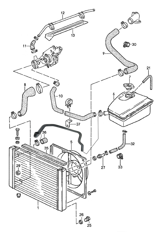 Water Cooling: Porsche 968 Starter Wiring Diagram At Ultimateadsites.com