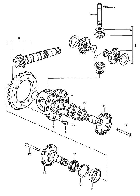 Porsche 944 Wheel Diagram