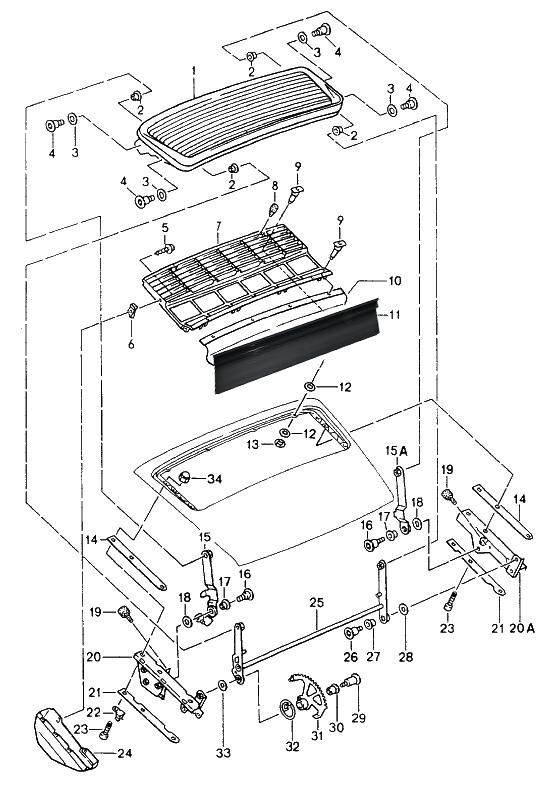 Porsche 964 Fuse Box Diagram