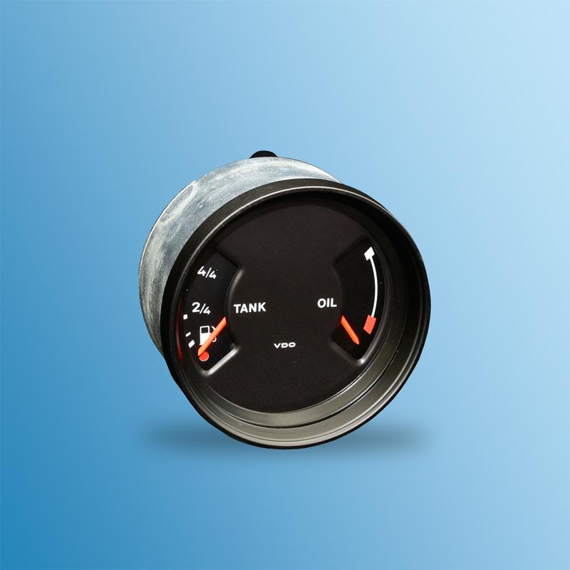 Kraftstofftank mit Dichtung f/ür Fahrzeuge mit Einspritzer Benzin 85 L